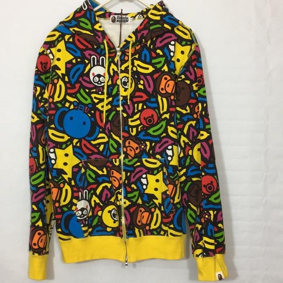 1bb1d375 Bape Sweaters | X Baby Milo Banana Pool Party Hoodie Xl | Poshmark
